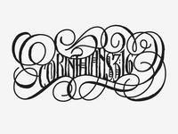 Corinthians Tattoo — 2nd Option