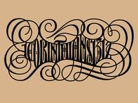 Corinthians Tattoo — Final