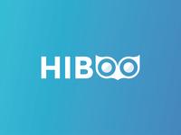Hiboo : logo design