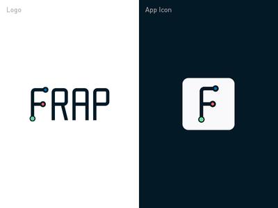 FRAP logo - exploration 1 logo design app icon ipad insurance