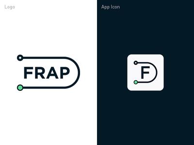 FRAP - Final logo logo ios app ios insurance ipad icon app logo design