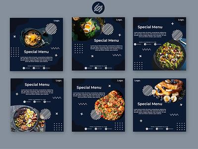Culinary instagarm post templates socialmedia instagram templates instagram story instagram post instagram banner