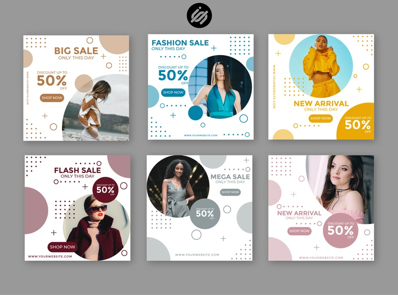 Fashion sale instagram social media templates sale banner sale templates illustration socialmedia instagram templates instagram story instagram post instagram banner