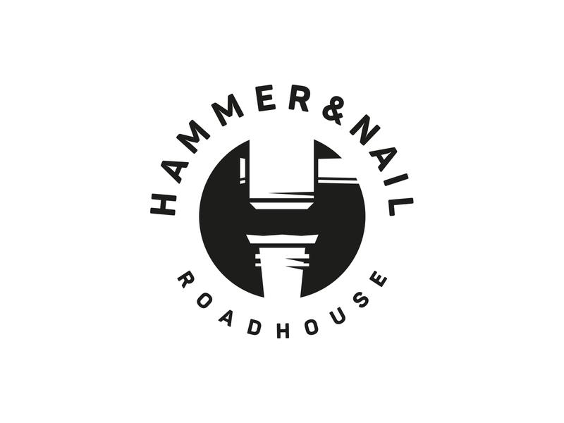 Hammer and Nail craft nail hammer logo design hamburg marken design hamburg brand design hamburg