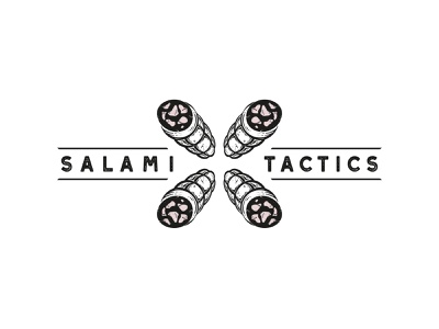 Salami Tactics minimal strategy meat tactics salami marken design hamburg mirbachdesign brand design hamburg