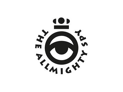 THE ALLMIGHTY SPY allmighty spy crown eye mirbachdesign logo design hamburg marken design hamburg brand design hamburg