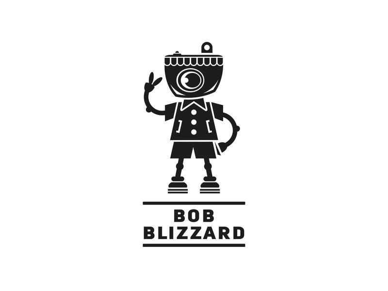 Bob Blizzard design boy camera mirbachdesign shooter photoshop logo design hamburg marken design hamburg brand design hamburg