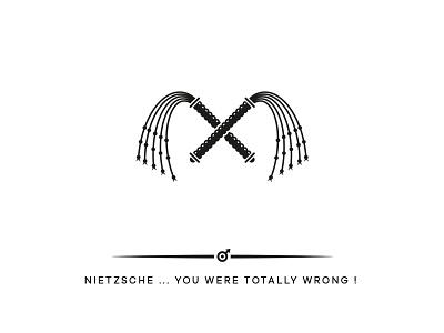 Nietzsche woman whip nietzsche logo design hamburg marken design hamburg brand design hamburg