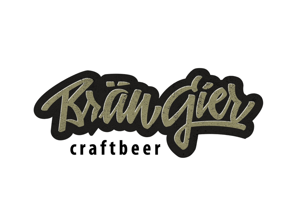 BRÄUGIER lettering germany bar drink beverages beer mirbachdesign brand-design-hamburg craft-beer-hamburg