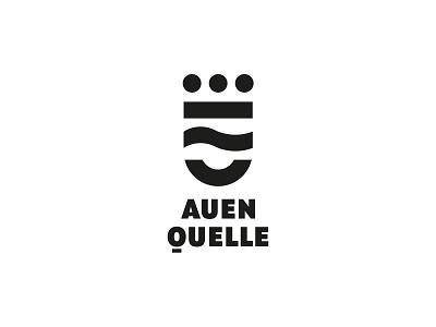 AUEN QUELLE - Mineralwasser water mirbachdesign logo-design-hamburg marken-design-hamburg brand-design-hamburg