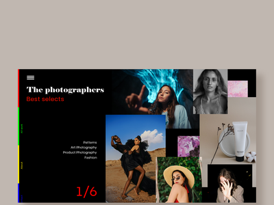 Photography Website design by Magica Labs ux ui design graphic design website designer website builder website concept website design and development website design company website website designing website design