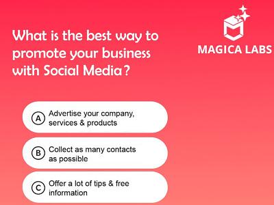 Social media marketing - Magica Labs