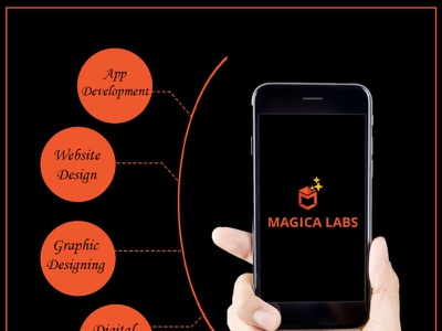 Magica Labs - Services app ux branding ui design graphic designing graphic design digital marketing web development app development