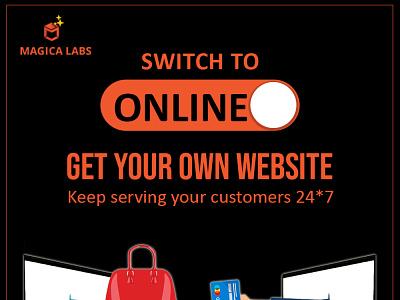 Magica Labs - Website Development ux design graphic design website development ui