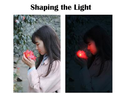 Shaping the Light shaping the light photo edit graphic design illustrator photoshop