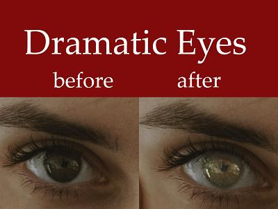 Dramatic Eyes design vector photo edit graphic design illustrator photoshop eyes