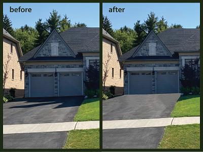 Real Estate editing removing shadows manipulation retouching real estate illustrator photoshop