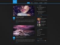03 darx website template home blog sidebar
