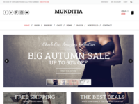 Munditia - an Ecommerce solution
