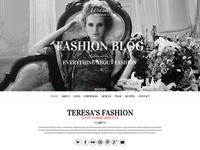 Teresa - A fashion Wordpress Theme