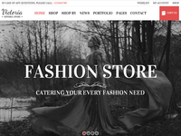 Victoria - Fashion Wordpress Theme