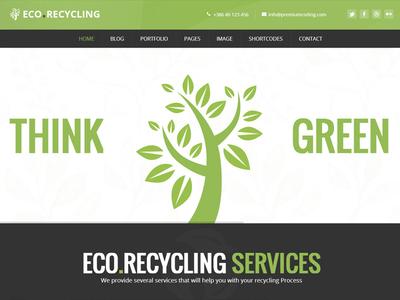 Ecorecycling Wordpress Theme