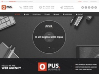 Opus - Multipurpose Business Theme