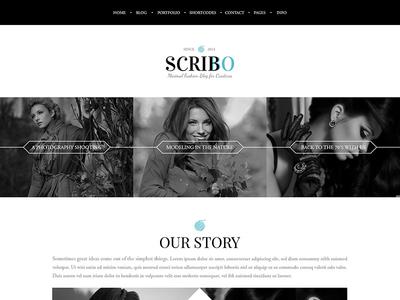 Scribbo - fashion blog Theme blog clean fashion fashion blog minimal minimal blog minimal portfolio personal portfolio portfolio theme responsive wordpress theme