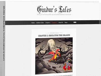 A fairytale Wordpress Blog blog blog theme clean fairytale fantasy fantasy blog illustrated blog minimal minimal blog personal