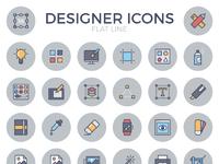 Designer flat line icons preview e1479203142888