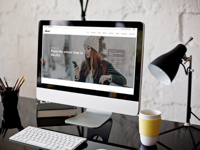 Anariel WordPress Theme wordpress blog theme blog theme web design typograhy lite free blog wordpress