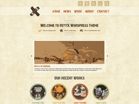 Retyx home page preview