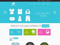 template for ecommerce website