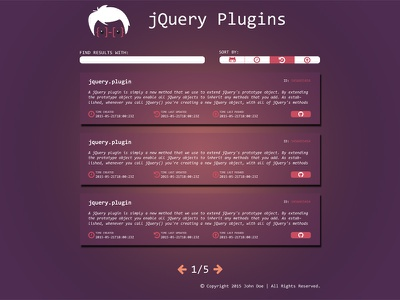 jQuery Plugin Design web