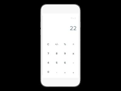 Daily UI 004: Calculator calculator ux ui dailyui
