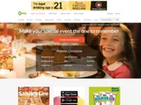 Thanksgiving homepage