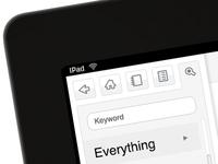 iPad Icons/UI Design