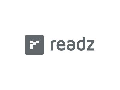Readz Rebranded logo branding icon layout font publication tablet app html5 design