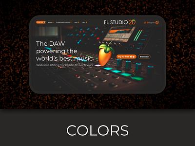 FL Studio Redesign illustration logo ux ui design alpine figma photoshop graphic design music fl studio