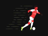 Aubameyang, the quick Gunner