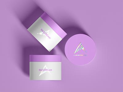 Alison Cosmetics design vector minimal branding product design product beauty logo design logocore logo