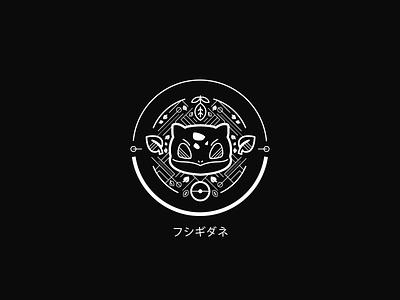 Bulbasaur ui iconography icon digital art graphic design typography vector illustration logo branding brand pokemon