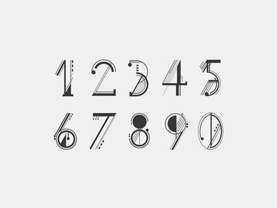 Husk Numerals free font font typography graphic design illustration vector icon logotype branding type font design typeface