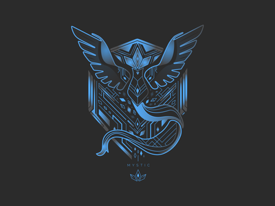 Mystic game art graphic digitalart art petros afshar font brand design logo design digital art design brand iconography icon logo typography branding illustration graphic design vector pokemon