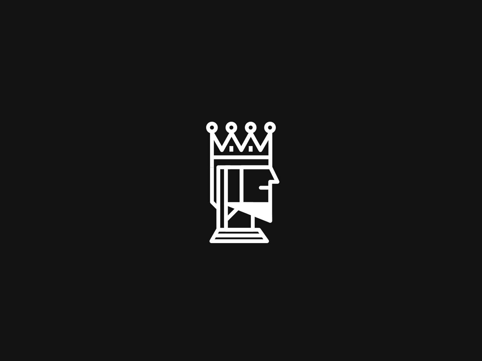 Kings logomark icondesign modern digital graphic digitalart art petros afshar brand design logo design digital art design brand iconography icon logo branding illustration graphic design vector