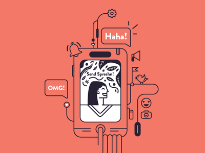 Spreshn icons logomark digital petros afshar modern art digitalart graphic brand design logo design digital art brand design iconography icon logo branding vector illustration graphic design