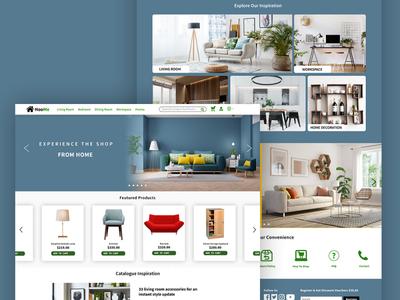 Furniture Shop furniture website furniture store furniture ecommerce webdesign web design uidesign ui