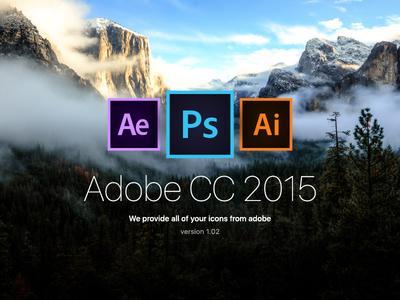 Adobe icon CC 2015 Free