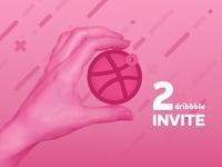 Invites Dribbble 2x