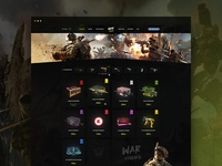 War Happy – Home page